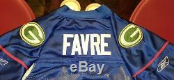 100% Authentic Green Bay Packers Pro Bowl Brett Favre #4 Jersey Reebok new withtag
