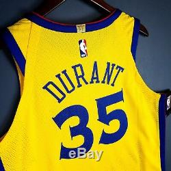 100% Authentic Kevin Durant Nike Warriors The Bay Jersey Size 48 L Large Mens