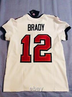 100% Authentic Nike Tom Brady Tampa Bay Vapor Elite Untouchable Authentic Jersey