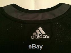 $180 Nwt Adidas Tampa Bay Lightning Alternate Black Hockey Jersey Mens Size 52