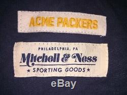 1921 ACME Green Bay Packers Mitchell & Ness Throwback Football Jersey Lambeau