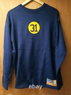 1929 Verne Lewellen WOOL Ebbets Field Flannels Green Bay Packers Jersey Size L
