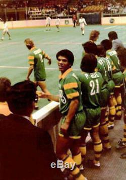 1981-82 NASL Paul Roe Indoor Tampa Bay Rowdies Game Match Worn Jersey by Adidas