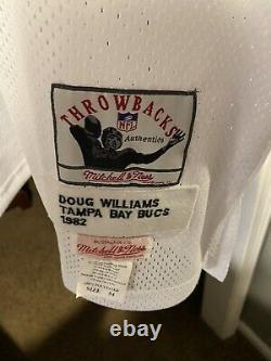 1982 Mitchell & Ness Doug Williams WHITE Tampa Bay Buccaneers Jersey S 54. Rare
