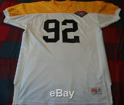 1994 Green Bay Packers Reggie White 75th Anniversary Away Jersey Procut Ripon