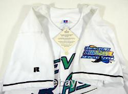 1998 Tampa Bay Devil Rays Wade Boggs #12 Authentic White Jersey Patch NWT 44 88