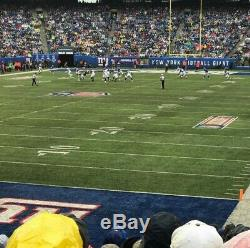 2 Tickets New York GIANTS vs green bay packers 12/1/19 100PM Sec148 with PARK