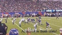 2 of 4 TICKETS GREEN BAY PACKERS VS NEW YORK GIANTS 12/1 FREE PARKING SEC 143