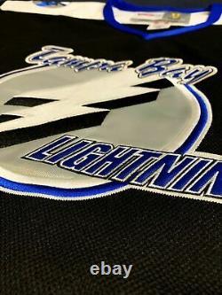 2001 Martin St. Louis Tampa Bay Lightning Black Jersey Size Men's Large