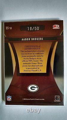 2006 Donruss Elite Series Aaron Rodgers Jersey /50 Green Bay Packers