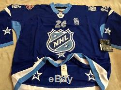 2011 NHL All Star Game Hockey Jersey Tampa Bay Lightning Martin ST. Louis Size 54