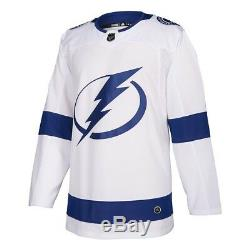 2017-18 Tampa Bay Lightning Adidas Authentic On-Ice Away White Jersey Men's