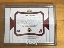 2018 Allen Lazard Green Bay Packers Flawless 1/1 # 5/5 His Jersey # Auto Patch