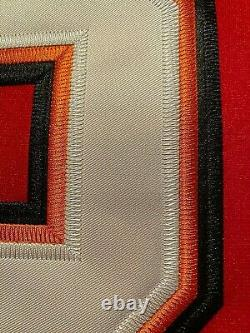 2020 Tampa Bay Buccaneers Tom Brady #12 Red Stitched Game Jersey 4XL