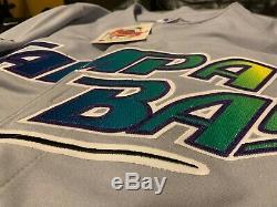3 Russell Athletics Tampa Bay Devil Rays Authentic Diamond Series Jerseys