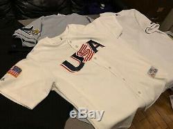 3 Russell Athletics Tampa Bay Devil Rays Authentic Original Baseball Jerseys