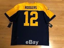 $325 NEW Nike Green Bay Packers Elite On-Field Jersey Aaron Rodgers Size 52 XXL