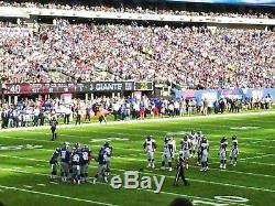 4 Tickets New York GIANTS vs. Green Bay Packers Section 146 Row 20