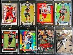 64-card Lot Tampa Bay Buccaneers Auto Rc Autograph Jersey Patches 1/1