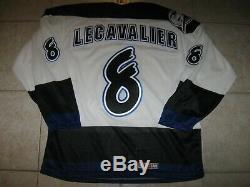 #8 Vincent LECAVALIER Tampa Bay LIGHTNING Off. Lic. CCM Jersey, Sz Men's L, NWT