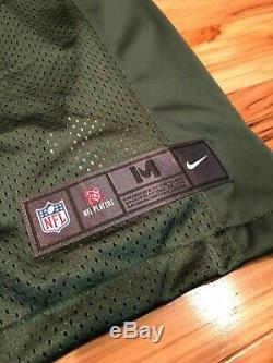 AARON RODGERS Green Bay Packers Nike LIMITED Home Jersey Stitched MEDIUM ($150)
