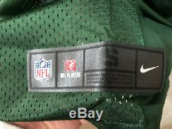 AARON RODGERS Green Bay Packers Nike LIMITED Home Jersey Stitched SMALL ($150)