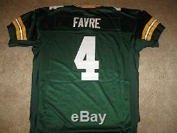 AUTHENTIC REEBOK Brett FAVRE Green Bay PACKERS THROWBACK Jersey-Size 52 $229