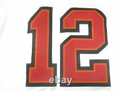 AUTHENTIC Tom Brady Tampa Bay Buccaneers Vapor Super Bowl LV 55 Jersey White