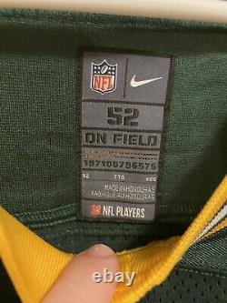 Aaron Rodgers Nike Elite Untouchable Green Bay Packers Pro Jersey Sewn