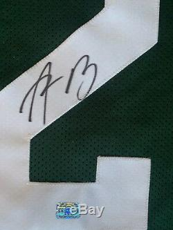 Aaron Rodgers Signed Autographed Green Bay Packers New Men's Green Jersey XL