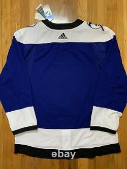 Adidas Authentic Reverse Retro Tampa Bay Lightning Jersey Size 50