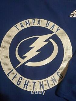 Adidas NHL Tampa Bay Lightning Men's Authentic Pro Practice Jersey Size 58