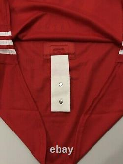 Adidas NHL Tampa Bay Lightning Mens Authentic Team Issue Practice Jersey SZ 58G