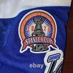 Andrei Vasilevskiy# 88 Tampa Bay Lightning NHL Hockey Stanley Cup Jersey Size60