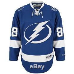 Andrei Vasilevskiy Reebok Tampa Bay Lightning Home Blue Premier Jersey Men's