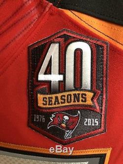 Authentic Mike Evans Tampa Bay Buccaneers Jersey 44 Nike Vapor Elite 40 48 NFL