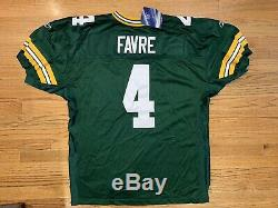 Authentic Reebok Green Bay Packers Brett Favre Jersey Mens 54 new with tags RARE
