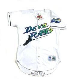 Authentic Tampa Bay Devil Rays 1998 Inaugural Season Home Jersey NWT Men's 40