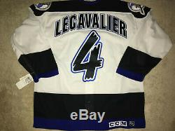Authentic Tampa Bay Lightning Jersey LECAVALIER CCM #4 NEW SIZE 52