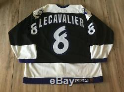 Authentic Tampa Bay Lightning Jersey LECAVALIER CCM #8 ROOKIE NEW SIZE 52