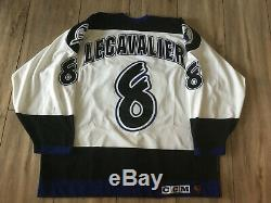 Authentic Tampa Bay Lightning Jersey LECAVALIER CCM #8 ROOKIE NEW SIZE 56