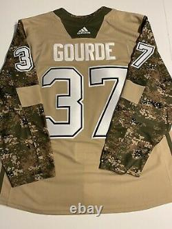 Authentic Tampa Bay Lightning Veterans Day Camo Jersey