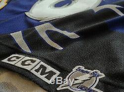 Authentic Tampa Bay Lightning Vincent Lecavalier Storm jersey sz XLarge