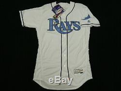Authentic Tampa Bay Rays Fathers Day FLEX BASE Jersey RARE! 48