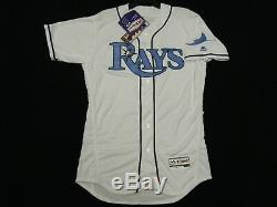 Authentic Tampa Bay Rays Fathers Day FLEX BASE Jersey RARE! 56