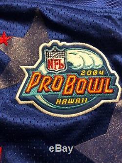 BNWT Brett Favre #4 Green Bay Packers 2004 Pro Bowl Authentic NFL Jersey Size 48
