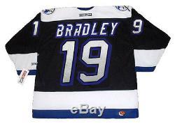 BRIAN BRADLEY Tampa Bay Lightning 1993 CCM Throwback NHL Hockey Jersey