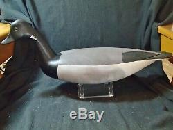 Barnegat Bay style Atlantic Brant decoy by Hurley Conklin Manahawkin NJ
