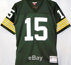 Bart Starr Green Bay Packers NFL Mitchell & Ness Premier Jersey Green