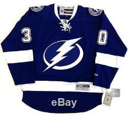 Ben Bishop Tampa Bay Lightning Reebok Premier Jersey